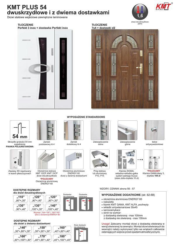 STM KMT 2skrz - Drzwi zewnętrzne